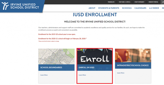 inside enrollment