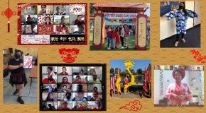 Lunar New Year collage
