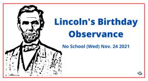 Lincolns Birthday