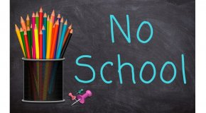 No school sign