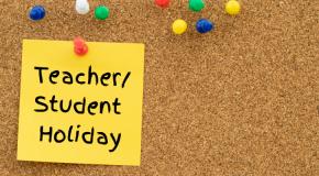 Student-Teacher Holiday