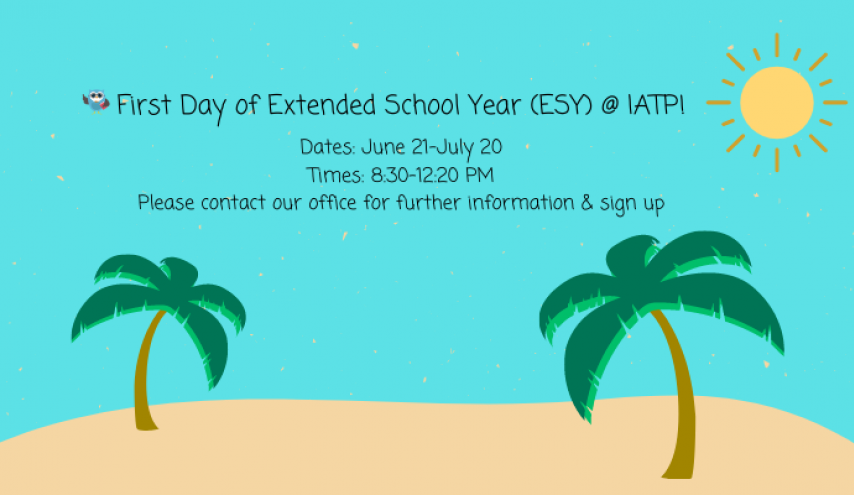 Extended School year dates and time