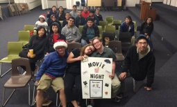 iatp students at movie night